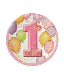 Borden verjaardag meisje 1 jaar