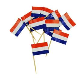 Nederlandse vlag prikkers 50 stuks
