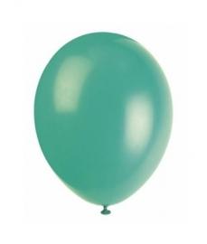 Ballonnen groen 8 stuks