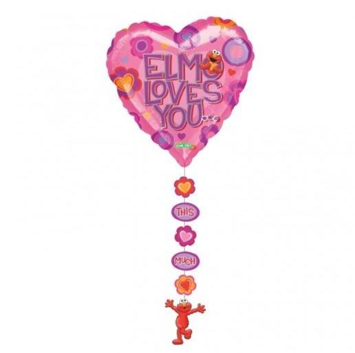 Elmo loves you this much folie ballon 61cm