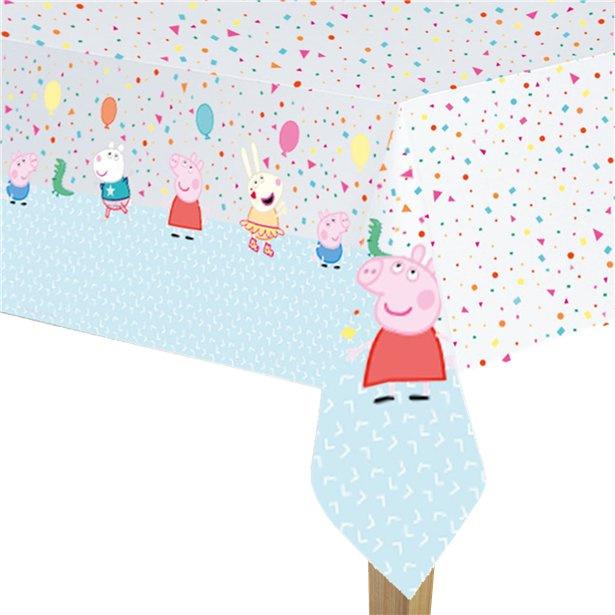 Peppa Pig tafelkleed plastic 120x180cm