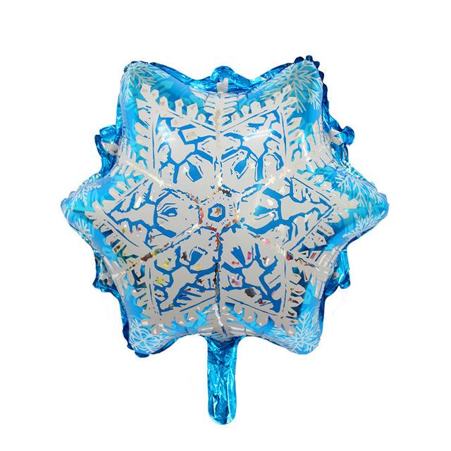 Sneeuwvlokje folie ballon 45cm