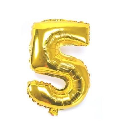Folie ballon verjaardag 5 jaar