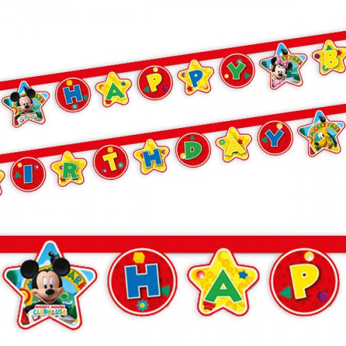 Mickey Mouse letterslinger 2,1m