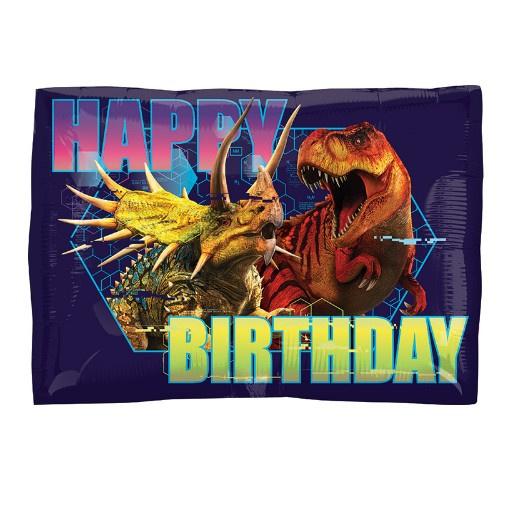 Jurassic World happy birthday folie ballon 42cm