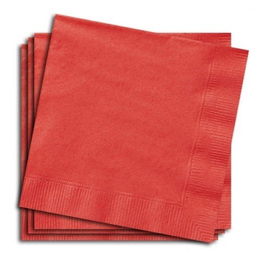 Servetten rood 20 stuks