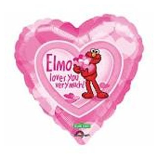 Elmo loves you folie ballon 45cm