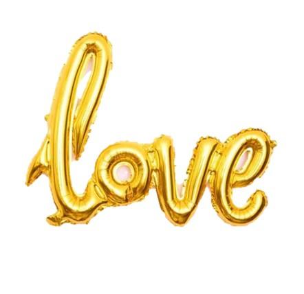 Love folie ballon 40x80cm