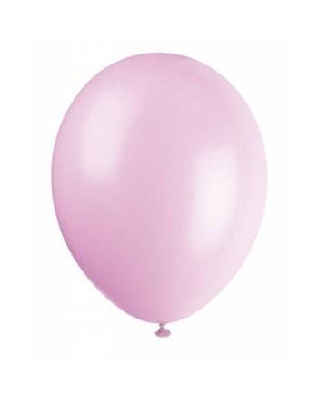 Ballonnen licht roze 10 stuks