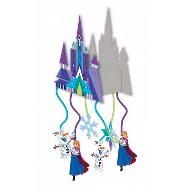 Frozen kasteel Anna Elsa pinata