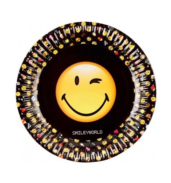 Emoji borden 8 stuks 23cm