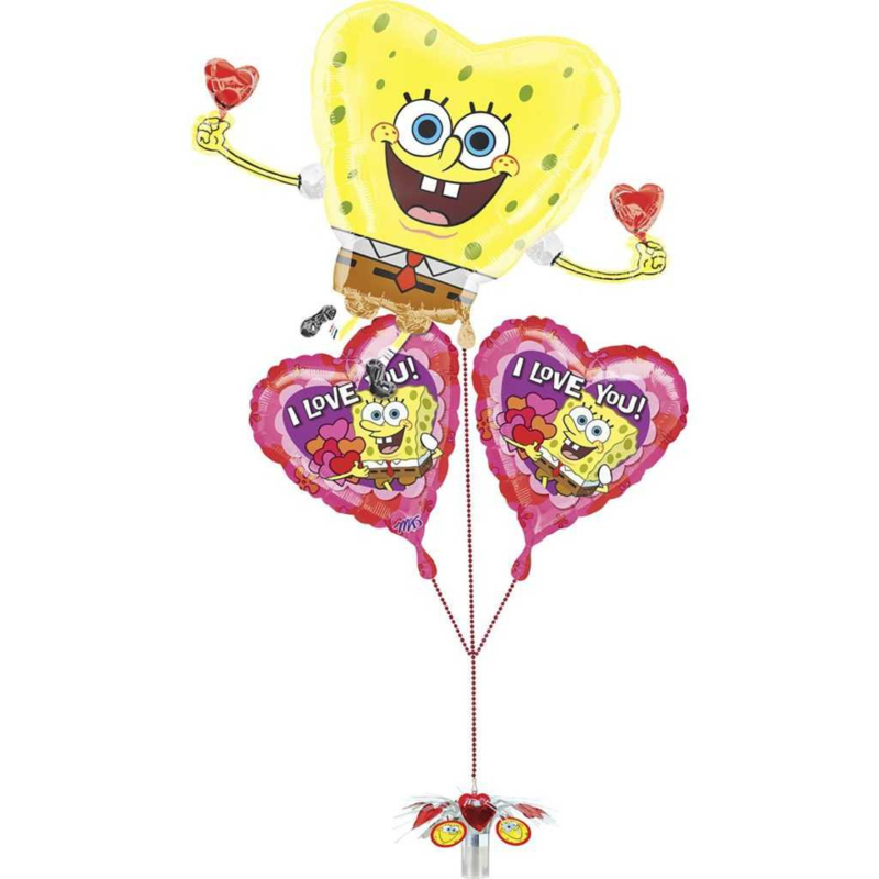 Spongebob folie ballonnen set