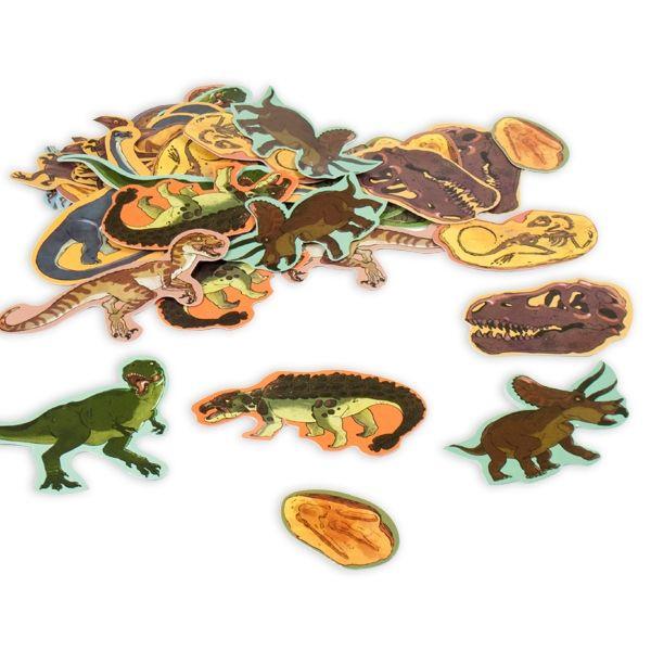 Dinosaurus confetti 3cm-6cm