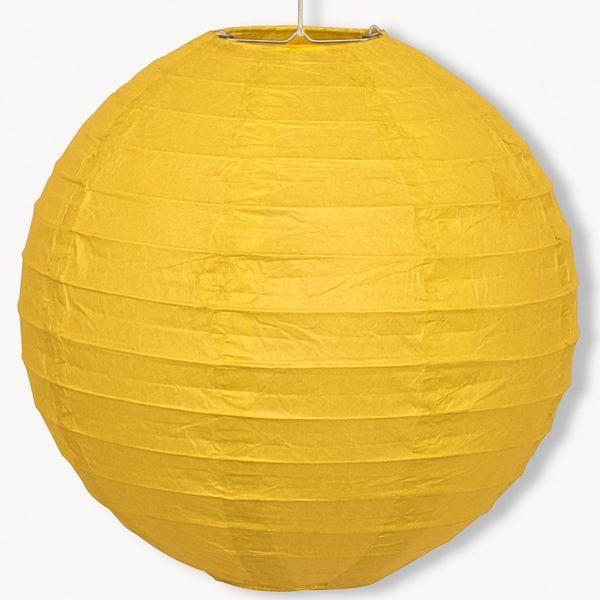 Lampion geel 25cm