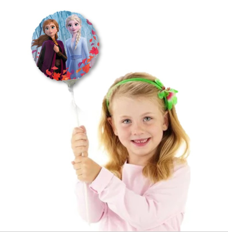 Frozen 2 folie ballon op stok