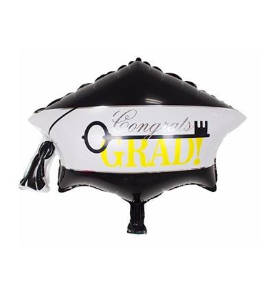 Folie ballon geslaagd baret