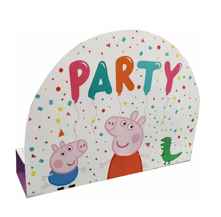 Peppa Pig uitnodigingen 8 stuks