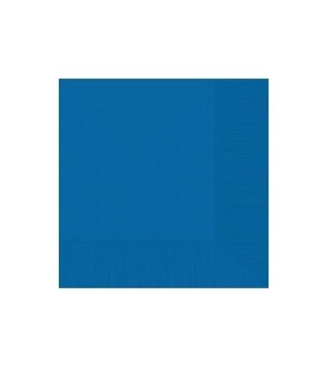 Servetten blauw 20 stuks 33x33cm