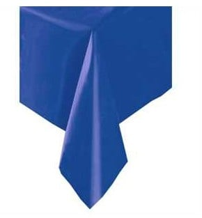 Tafelkleed blauw 137x274cm