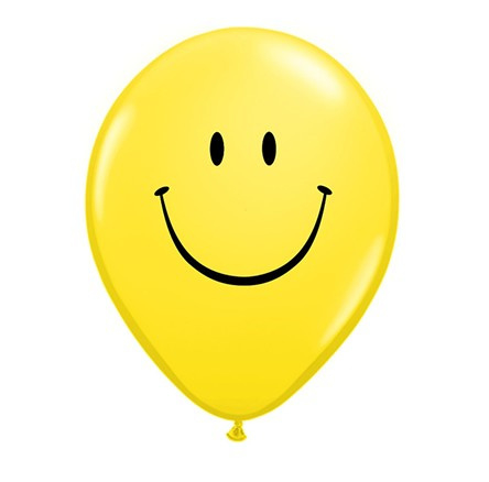 Emoji ballonnen 5 stuks