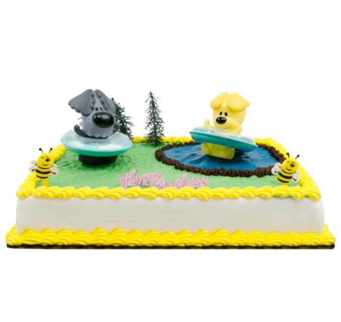 Woezel en Pip taart figuren 2 stuks