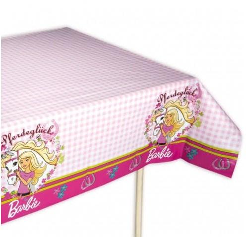 Barbie paard  tafelkleed 120x180cm