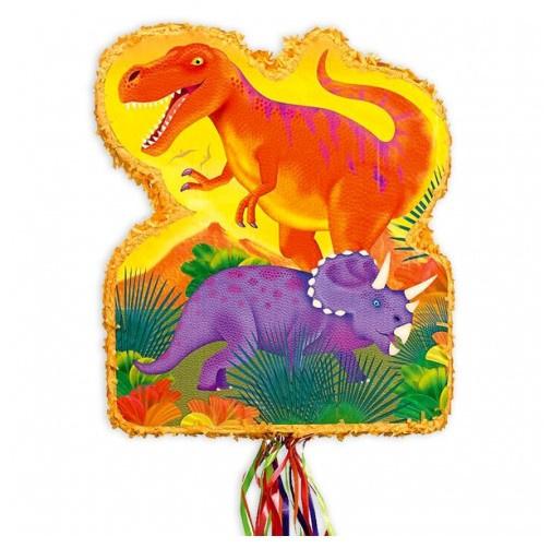 Dinosaurus trekpinata 53x44cm