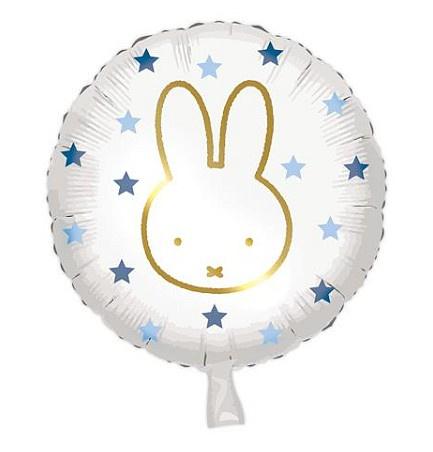 Nijntje folie ballon blauw 45cm