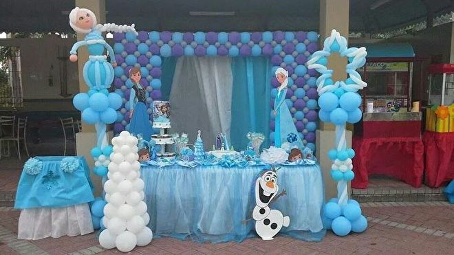 Onwijs Frozen feest idee verjaardag   Feestwinkel Altijd Feest IK-89