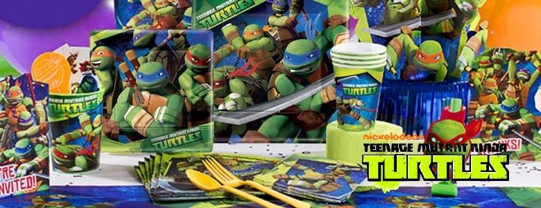 the turtles feest kinderfeest