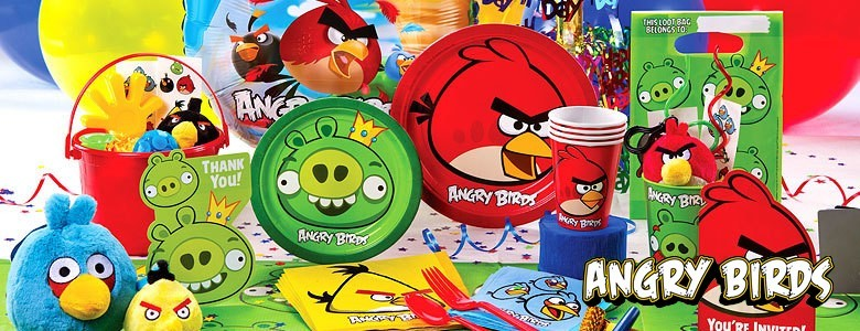 Angry Birds feest