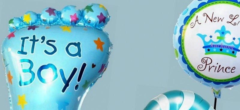 Heliumballonnen baby