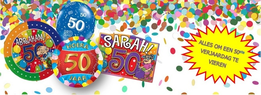 Verjaardag 50 abraham sara