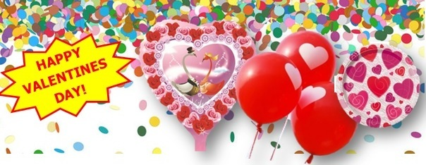 Valentijnsdag feest versieringen
