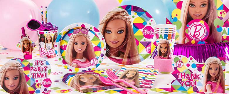Kinderfeest Barbie