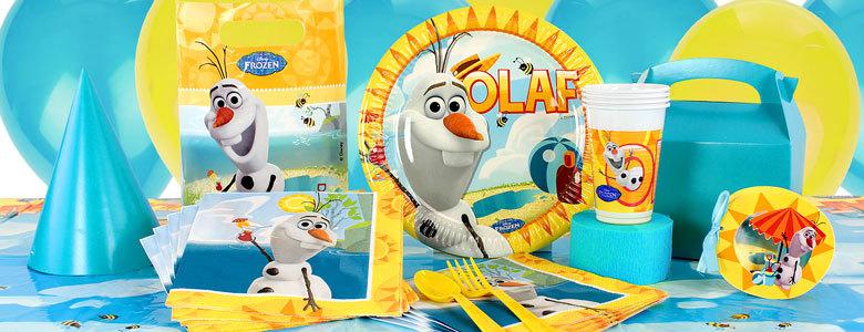 Olaf feestartikelen verjaardag
