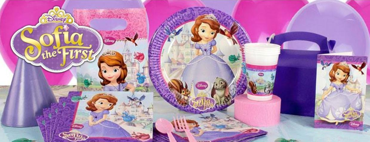 Sofia the First feestversieringen