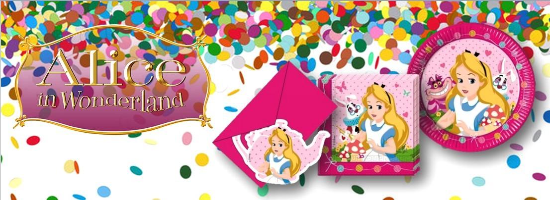 Alice in Wonderland feestartikelen versiering verjaardag