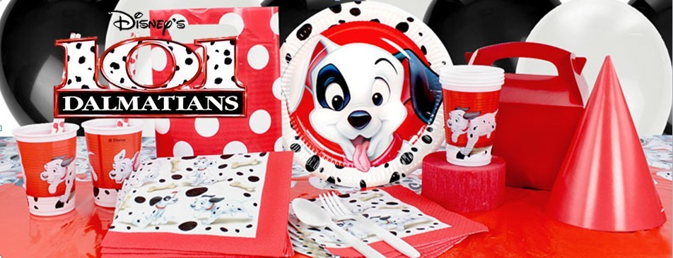 101 Dalmatiërs feestartikelen versiering verjaardag