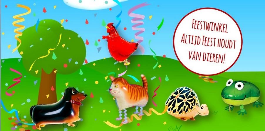Dieren feestartikelen verjaardag