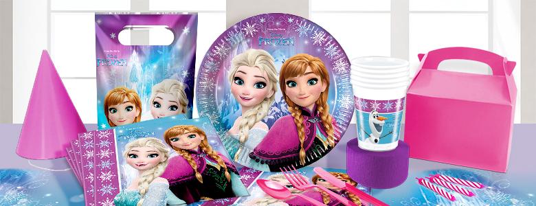 Frozen verjaardag versiering