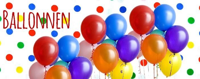 Ballonnen online kopen