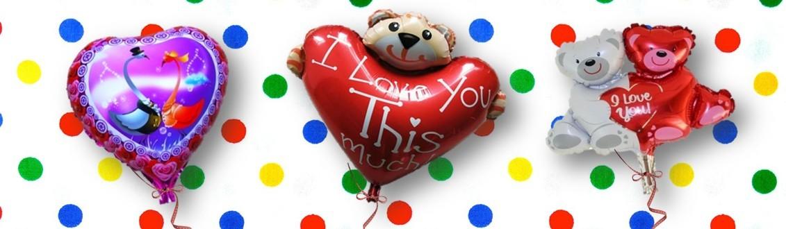 heliumballon Valentijnsdag bestellen