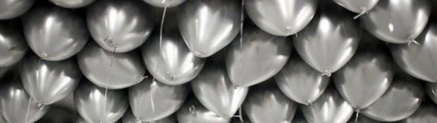 Ballonnen zilver kopen