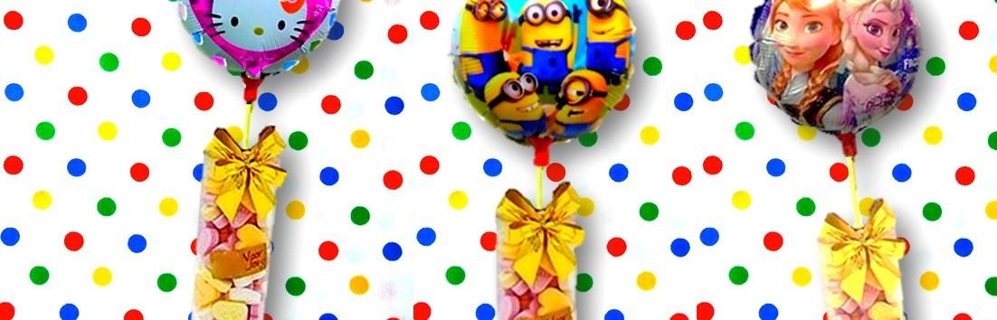 Snoep cadeau  verrassing verjaardag