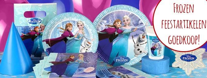 Frozen feestartikelen goedkoop