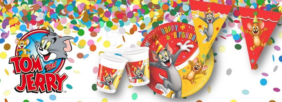 Tom and Jerry feest versiering verjaardag