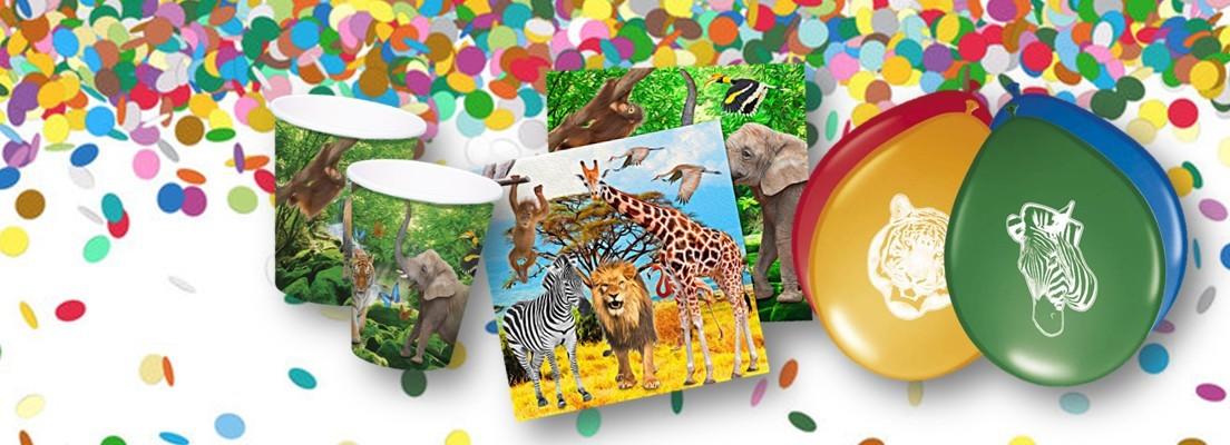 Safari feest versiering