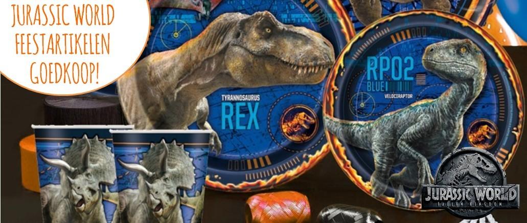 Jurassic World ballonnen slingers