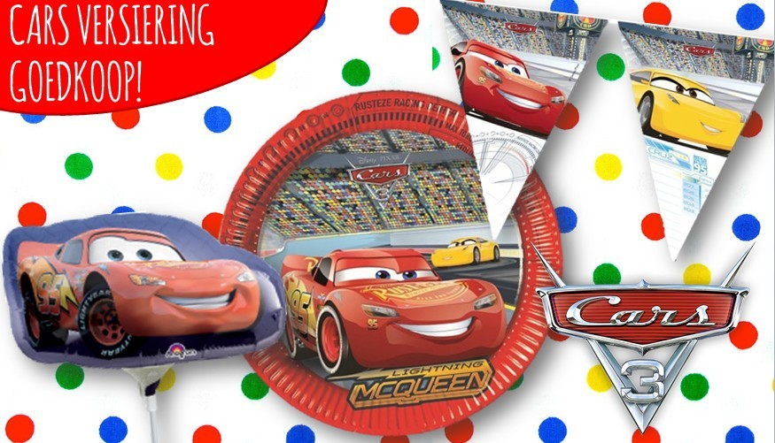 Cars feestartikelen goedkoop